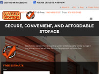U-Need Storage website screenshot