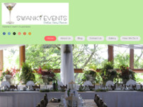 Swanky Events Perfect Party Planners website screenshot