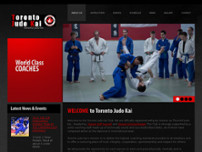 Toronto Judo Kai website screenshot