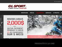 G L Sport Inc website screenshot