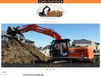 Earth Pro Excavating Ltd. website screenshot