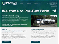 Par-Two Farms Ltd website screenshot