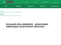 Enterprise Rent-A-Car website screenshot