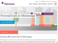 Fairstone website screenshot