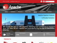 Apache Pipeline Products website screenshot