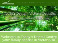 Today's Dental Centre website screenshot
