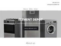 Element Depot website screenshot