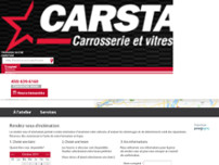 CARSTAR Laval Rue Lamer website screenshot