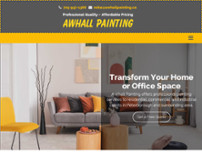 AWhall Painting website screenshot