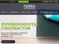 Ferro Canada Inc website screenshot