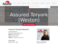 Assured Automotive website screenshot