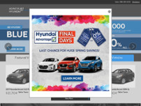 Agincourt Hyundai website screenshot