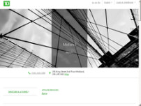TD Wealth Private Investment Advice website screenshot