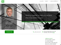 Chris Vrantsis - TD Wealth Private Investment Advice website screenshot