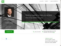 Jeffery Wilson - TD Wealth Private Investment Advice website screenshot