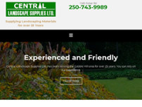 Central Landscape Supplies Ltd website screenshot