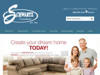 Schwartz Furniture website screenshot