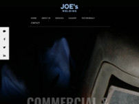 Joe's Welding website screenshot