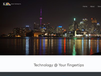 Kunsten Technologies Inc. website screenshot