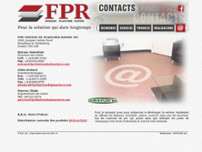 FPR Finition de Plancher Rapide website screenshot