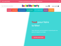 Le Roi du Party website screenshot