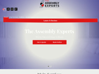 The Assembly Experts website screenshot