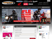 Goulet Moto Sports website screenshot
