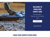 Fresh Now Carpet Care website screenshot