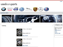 A-1 Recycled Auto Parts website screenshot