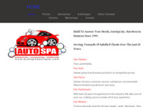 Autospa Laval website screenshot