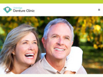Uxbridge Denture Clinic website screenshot