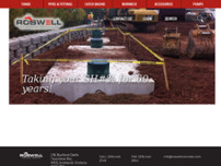 Roswell Concrete Products website screenshot