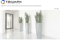 Triumph PFC website screenshot