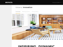 Spaces - British Columbia, Kelowna - Spaces Innovation website screenshot