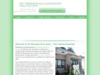 Dr. Sherman Ki & Associates website screenshot