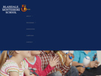 Blaisdale Montessori School website screenshot