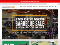 Barbecue World website screenshot