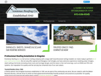 Frontenac Roofing Co website screenshot
