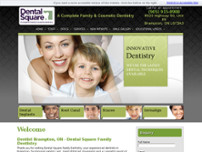 Dental Square website screenshot
