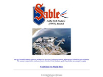 Sable Fish Packers (1988) Limited website screenshot