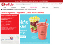 Edible Arrangements website screenshot