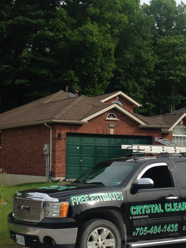 Crystal Clear Roofing Inc. Logo