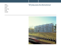 Wymann Architektur website screenshot