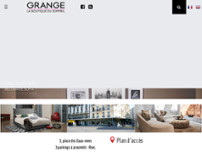 Grange décoration - La Boutique du Sommeil website screenshot