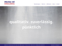 Mächler AG website screenshot