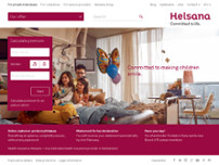 Helsana Versicherungen website screenshot