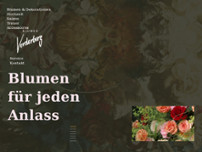 Blumen Vorderberg website screenshot