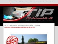 TIP Automobile AG website screenshot