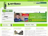 Servibanca website screenshot