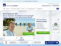 Patzak Matthias Versicherungsagentur AXA DBV website screenshot